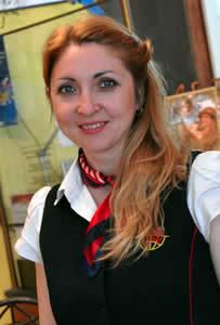 Operátorka Nadiya Lustak