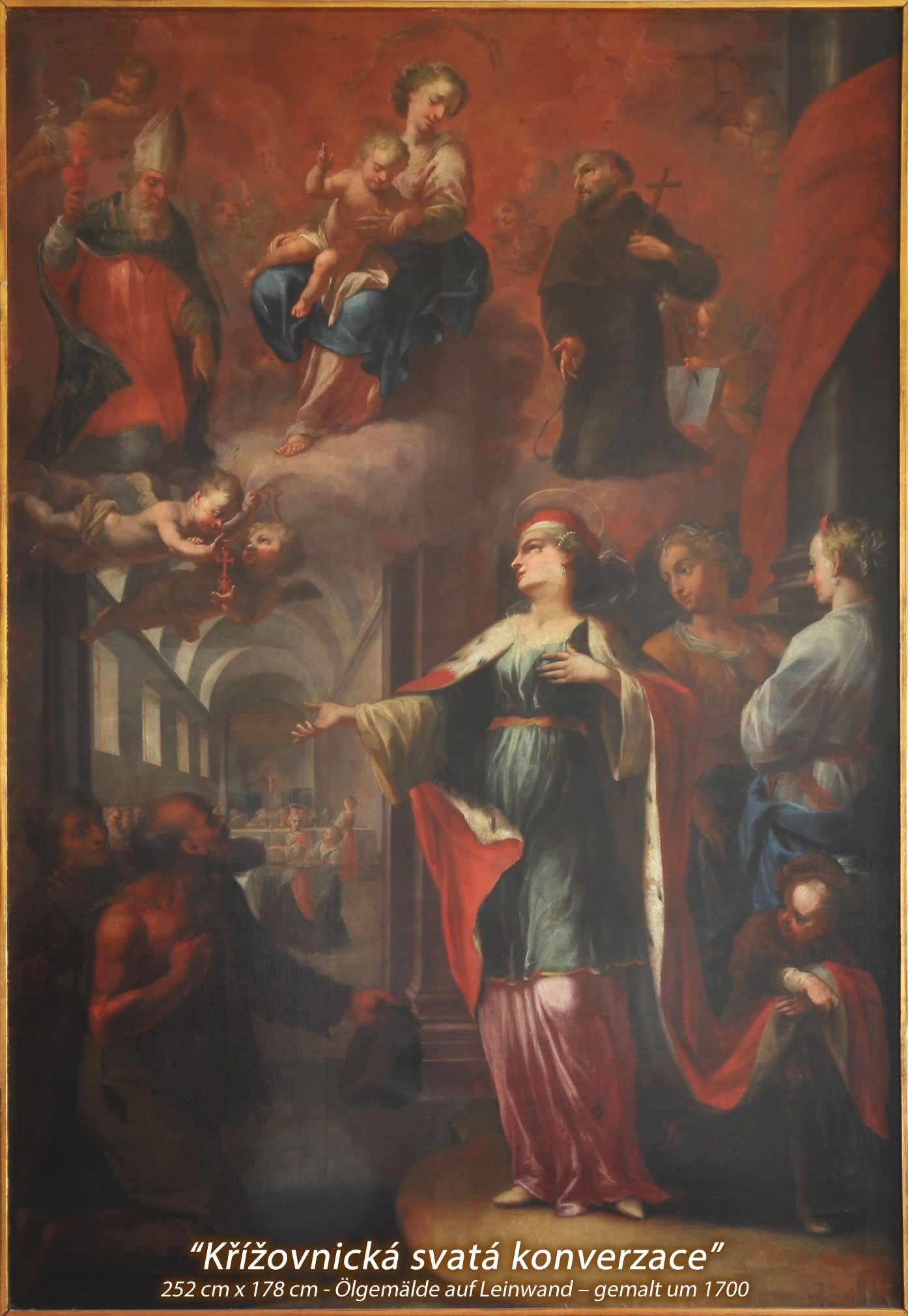 Obraz restaurace U Křížovníků DE